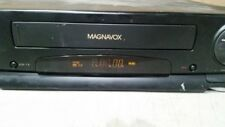 Magnavox Vhs Vr-9360 Vintage Vcr Single Deck 4 Head Hi-Fi Tested Free Shipping