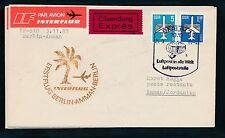 97480) DDR Eilboten Brief IF FF Berlin - Amman 3.4.84