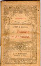 Gabriele D'ANNUNZIO - serie Medaglie - Editore  Formiggini