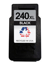 Canon PG-240XL 1 Black Remanufactured Ink Cartridge Shows Ink Levels