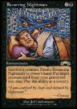 Cauchemar Récurrent - Recurring Nightmare - Magic mtg - Exc
