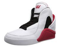 Supra Chimera SP51002 Mens Shoes Skate Sneakers White Black Leather Retro