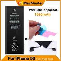 2019 Ersatz Akku für iPhone 5S A1533 A1453 A1457 Batterie Accu 0 Cycle +Kleber