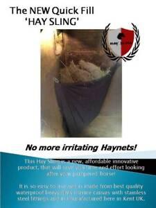 Quick fill Hay Sling,hay rack,hay manger, hay bar,hay feeder,haynet SALE 20% OFF