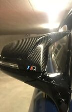 Bmw 1 Series F20/F21 2 Series F22 Carbon Fibre Mirror Covers with M Mark OEM-Fit