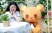 "39"" HUGE LARGE Cuddl bear BROWN Lovely Stuffed Animal Plush Toy Soft Pillow gift"