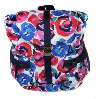 Tommy Hilfiger Women's Navy Multi Floral Backpack Purse Bag Ret $128 New