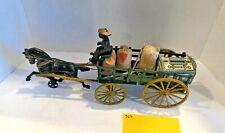 Vintage Toys Hubley Wilkins Kenton, Wilkins Stake Wagon, Cast Iron