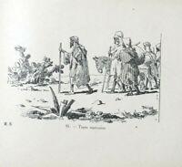 Alger à Marrakech Cent dessins d'après nature THEZARD JOEL Rare livre Relié