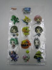 PS4 PSV Game World of Final Fantasy 3D Sticker Seal Game Weekly Square Enix