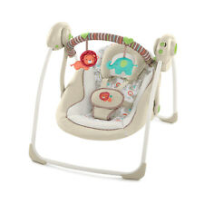 Baby Portable Swing 2 Seat Position 6 Speed Electric Musical 9 Lbs Capacity