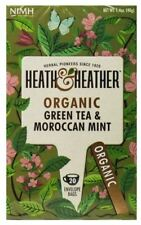 Heath And Heather Organic Green Tea & Moroccan Mint - 20 Bags