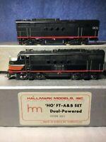 Hallmark Models HO FT AB Both PWRD S T L S - W Cotton Belt Locomotive Set -Korea