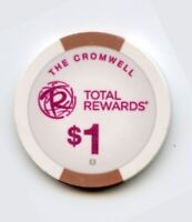 1.00 Chip from the Cromwell Casino in Las Vegas Nevada