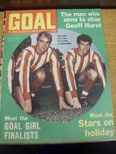 19/07/1969 GOAL SOCCER WEEKLY Magazine: N. 050-L' uomo che mira a smettere di Geoff