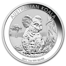 AUSTRALIE 1 Dollar Argent 1 Once Koala 2017 1 Oz silver coin Australia