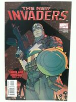 New Invaders #7 in Marvel Comics April 2005 CAPTAIN AMERICA ~GREAT CONDITION~