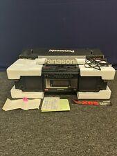 Panasonic XBS RX-FW39 Stereo Radio Caassette Player Recorder Boombox Portable