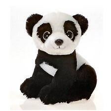 "9"" Sitting Panda Bear with Big Eyes Plush Stuffed Animal Toy by Fiesta Toys"