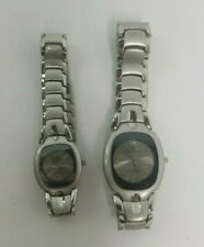 Charles Raymond New York Male & Female Stainless Steel Watches Set