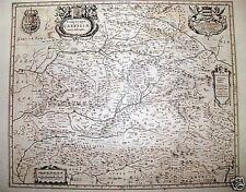 UTRIUSQUE CASTILLAE Mapa de BLAEU 1735.