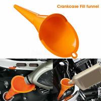 Crankcase Fill Funnel Primary Case Oil Fill Drip-Free For Motorräder Funnel X6M0