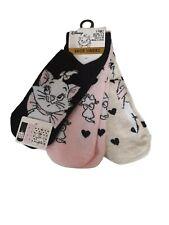 Marie The Cat Ladies Shoe Liners Girls Women Socks Hosiery Size UK 4-8 Primark