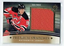 11-12 UD Ultimate Premium Swatches  Zach Parise  /35  Jersey