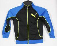Puma Kleinkinder Kinder Sweatshirt Jacke Reißverschluss Blau Schwarz Grün Größe