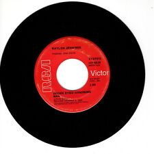 WAYLON JENNINGS Brown Eyed Handsome Man VG 45 RPM REISSUE