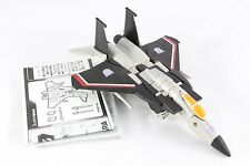 Transformers Robot Masters RM-12 Takara Black Starscream Figure King