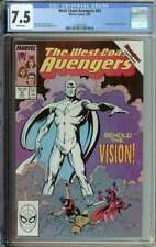 West Coast Avengers #45 CGC 7.5 1st App White Vision