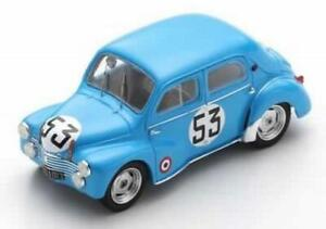 Renault 4CV 1063 Le Mans 1952 Lesur- Briat 1:43 SPARK S5225
