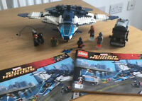 LEGO Marvel Super Heroes The Avengers Quinjet City Chase (76032) > 5 Minifigures