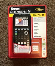 Texas Instruments TI-84 Plus CE Graphing Calculator - Blue (84PLCE/TBL/1L1/X)
