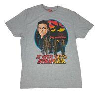 Stranger Things It Only Gets Stranger TV Show Mens T Shirt S-2XL