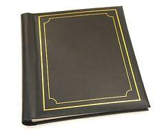 Large Self Adhesive Photo Albums Spiral Bound 20 Sheets 40 Sides Black - SM40BK
