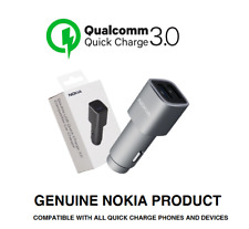 Genuine Nokia DC-801 Dual USB Qualcomm 3.0 / 4.8A Quick Car Charger 12V / 24V