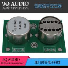 Audio MC step-up transformer for MC phono LP permalloy transformer 1+1:10+10