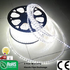 1m-100m Cool White Tape Flexible LED strip rope Light Waterproof SMD 3528 Xmas