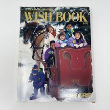 1991 Wish Book Sears Christmas Catalog SUPER NINTENDO GAMEBOY SEGA NES Early 90s