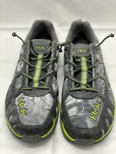 Huk Attack Performance Fishing Shoes Gray Green Size 9 Worn Very Little