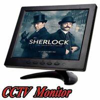 "8"" inch HDMI HD CCTV Monitor Screen Display TFT LCD 1204*768 For PC VGA AV BNC S"