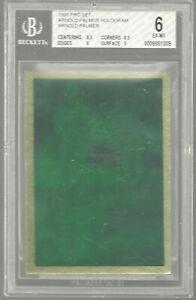 1991 Pro Set PGA Tour Arnold Palmer Hologram NNO BGS 6 8.5 Insert - Scarce