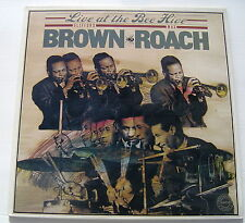 CLIFFORD BROWN & MAX ROACH...LIVE AT THE BEE HIVE..2 LP