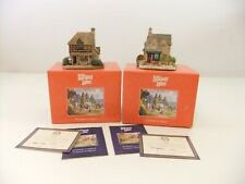 Lilliput Lane The Greengrocers 1991 & Jones the Butcher 1993 With Box & Deed