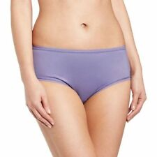 Polyamide Patternless Everyday Mid Rise Knickers for Women