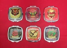96 Assorted  Lot - Kingsley  Double Compact  Mirror  Tattoo Counter Top Display