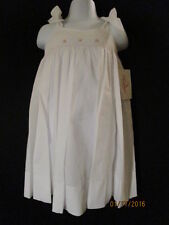WHITE SMOCKED HEIRLOOM SUNDRESS SPECIAL OCCASIONS BEACH PICTURES BOUTIQUE