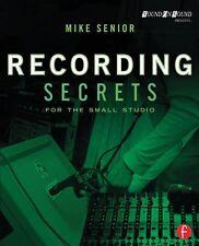 Recording Secrets for the Small Studio Book NEW 000151728
